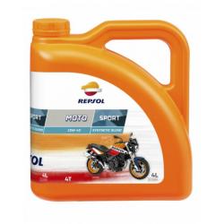 REPSOL olej silnikowy 4T MOTO SPORT 10W40 4L MA2 PÓŁSYNTETYCZNY