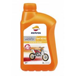 REPSOL olej silnikowy 2T MOTO OFF ROAD 1L PÓŁSYNTETYCZNY