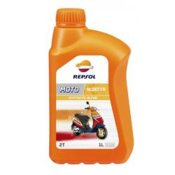 REPSOL olej silnikowy 2T MOTO SCOOTER 1L PÓŁSYNTETYCZNY