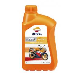 REPSOL olej silnikowy 2T MOTO SINTETICO 1L PÓŁSYNTETYCZNY