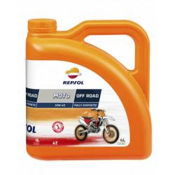 REPSOL olej silnikowy 4T MOTO OFF ROAD 10W40 4L MA2 SYNTETYCZNY