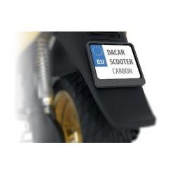 Ramka tablicy rejestracyjnej do skutera CARBON