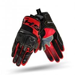SHIMA BLAZE RED/BLACK męskie letnie rękawice motocyklowe