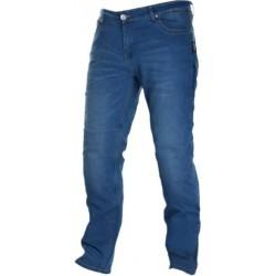 Spodnie motocyklowe letnie niebieskie JEANS LEOSHI