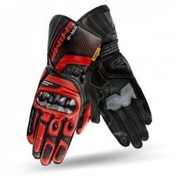 SHIMA STR-2 BLACK/RED sportowe męskie rękawice skórzane