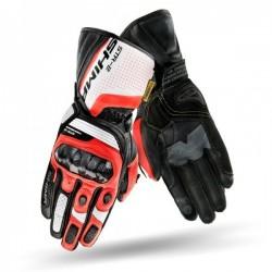 SHIMA STR-2 RED/FLUO sportowe męskie rękawice skórzane