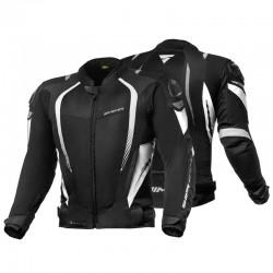 SHIMA MESH PRO BLACK/WHITE letnia sportowa kurtka męska
