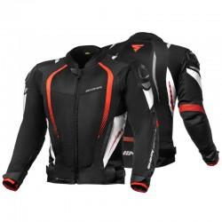 SHIMA MESH PRO BLACK/RED letnia sportowa kurtka męska