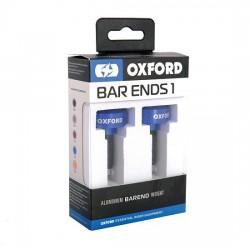 Ciężarki końcówki kierownicy OXFORD BAR ENDS 1 niebieskie