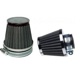 Filtr powietrza stożkowy uniwersalny CHROM CHROMOWANY 30mm