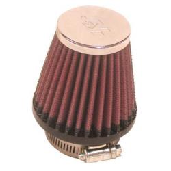 Filtr powietrza stożek K&N RC-1090 48mm chrom pokrywa