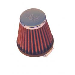 Filtr powietrza stożek K&N RC-2310 40mm chrom pokrywa