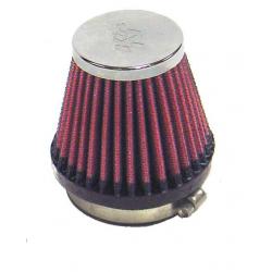 Filtr powietrza stożek K&N RC-2340 55mm chrom pokrywa