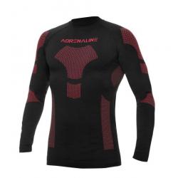 Koszulka termoaktywna ADRENALINE FROST czarno czerwona