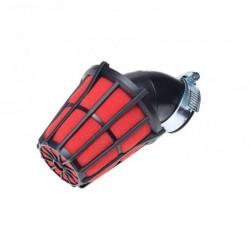 Filtr powietrza 38mm gąbkowy stożkowy 45'