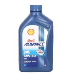 Olej silnikowy półsyntetyczny SHELL AX7 10W40 4T 1L