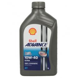 Olej silnikowy syntetyczny SHELL ADVANCE ULTRA 4T 10W40 1L