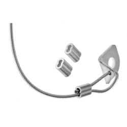 Linka zabezpieczająca dźwignię hamulca nożnego CNC Flex