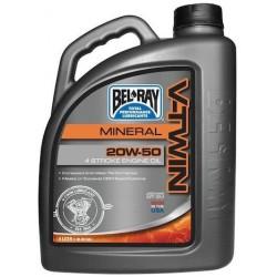 Olej silnikowy mineralny Bel-Ray V-Twin 4T 20W50 4l