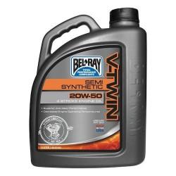Olej silnikowy półsyntetyczny Bel-Ray V-Twin 4T 20W50 4l