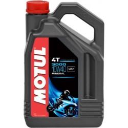 Olej silnikowy mineralny MOTUL 3000 4T 10W40 4L
