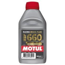 Płyn hamulcowy syntetyczny na tor sportowy MOTUL RBF 660 DOT4 500ml