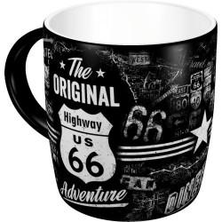 Kubek ceramiczny na prezent do garażu HIGHWAY66 43012