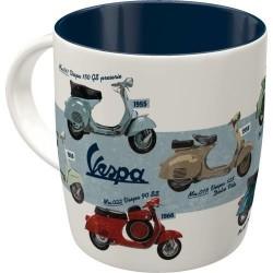 Kubek ceramiczny na prezent do garażu VESPA HART 43052