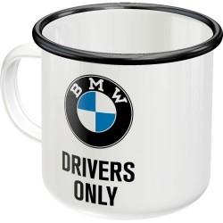 Kubek emaliowany na prezent BMW DRIVERS 43210 360ml