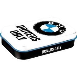 MINTBOX XL BMW DRIVERS ONLY 82110 cukierki miętówki w pudełku na prezent