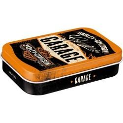 MINTBOX XL HARLEY-DAVIDSON GARAGE 82105 cukierki miętówki w pudełku na prezent