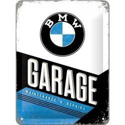 Plakat, tablica metalowa do garażu na prezent BMW GARAGE 26212