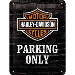 Plakat, tablica metalowa do garażu na prezent HARLEY-DAVIDSON 26117