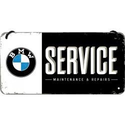 Zawieszka, metalowy szyld na prezent BMW SERVICE 28001