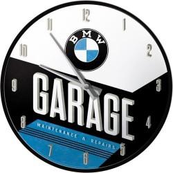 Zegar ścienny na prezent dla motocyklisty BMW GARAGE 51077