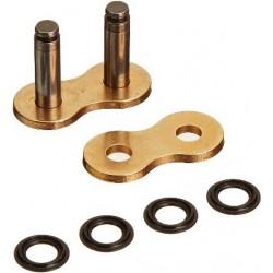 Zakuwka, ogniwo łańcucha DID 530VX-ZJ złota