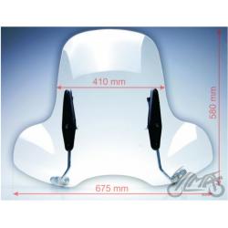 Uniwersalna szyba skuter motorower.