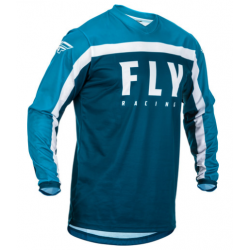 FLY F-16 NAVY/BLUE/WHITE męska koszulka cross enduro off road