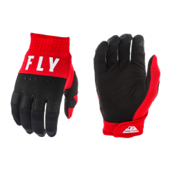 FLY F-16 WHITE/BLACK/RED męskie rękawice cross enduro off road