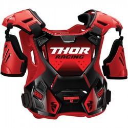 THOR ochraniacz klatki piersiowej buzer GUARDIAN Black/Red