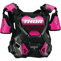 THOR ochraniacz klatki piersiowej buzer damski GUARDIAN Black/Pink