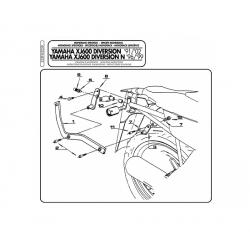 Kappa stelaż kufra centralnego YAMAHA XJ 600 DIVERSION N