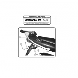 Kappa stelaż kufra centralnego YAMAHA TDM 850 96-01