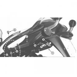 Kappa stelaż kufra centralnego BMW K 1200GT 03-04 K 1200RS 00-04