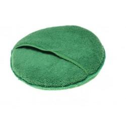 Gąbka do mycia motocykla z kieszonką zielona