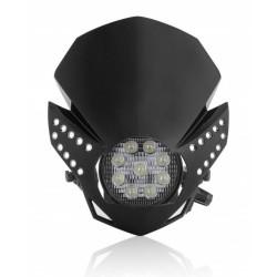 Uniwersalna lampa czarna LED ACERBIS FULMINE