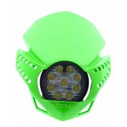 Uniwersalna lampa zielony LED ACERBIS FULMINE