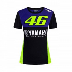 VR46 T-shirt koszulka motocyklowa damska YAMAHA