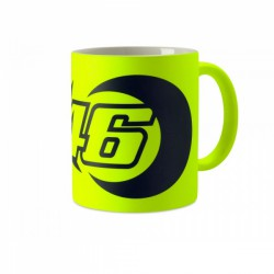 VR46 Kubek SUN AND MOON FLUO YELLOW