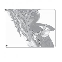 Kappa stelaż kufrów bocznych monokey HONDA XRV 750 AFRICA TWIN 93-02
